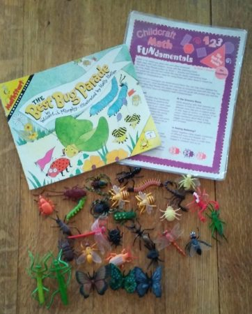 The best bug parade book with insects and activity sheet