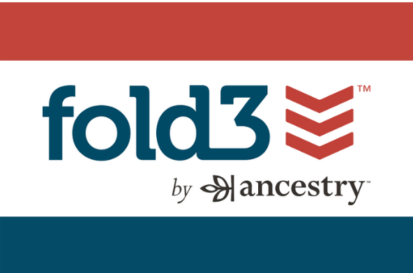 Fold3 powered by ancestry.com logo link.