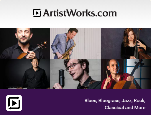 Artistworks.com teachers and instruments