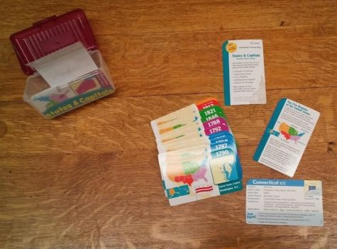State and capital flash cards