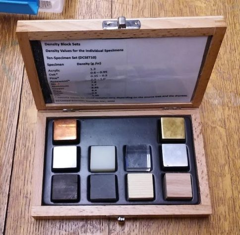 ten block same size different substances